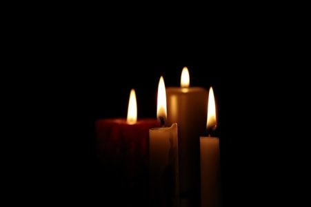 candle - bereavement