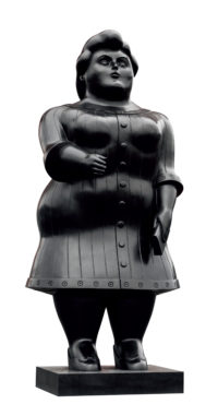Dressed Woman by Botero, 2003 - Obesity and Disability