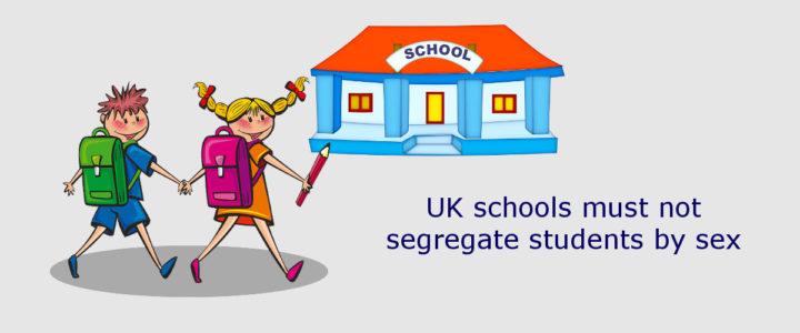 sex discrimination school UK