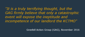 Grenfell Action Group quote