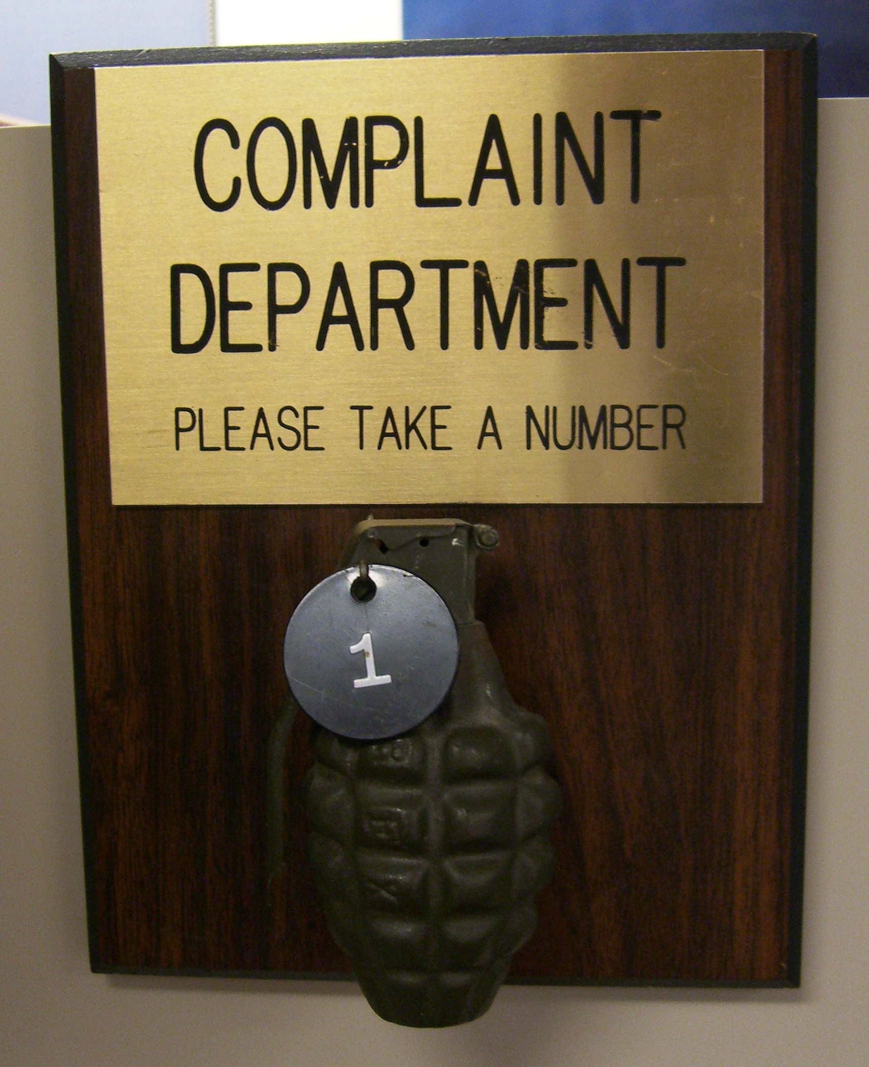 dental complaints
