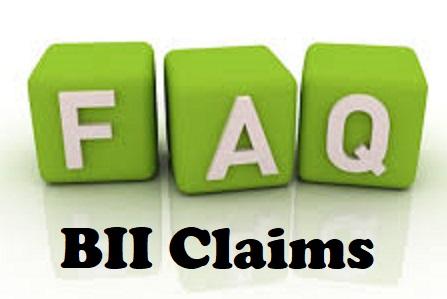 BII Claims FAQ